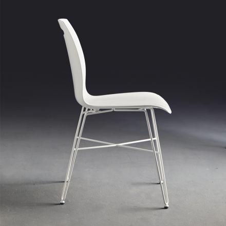 COLICO Bip Iron - Sedia con struttura in acciaio