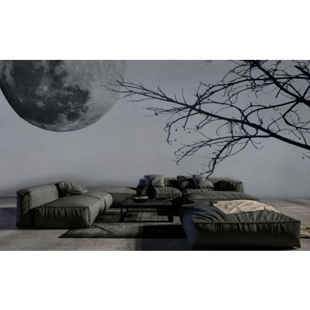 INSTABILELAB - Carta da parati Full moon