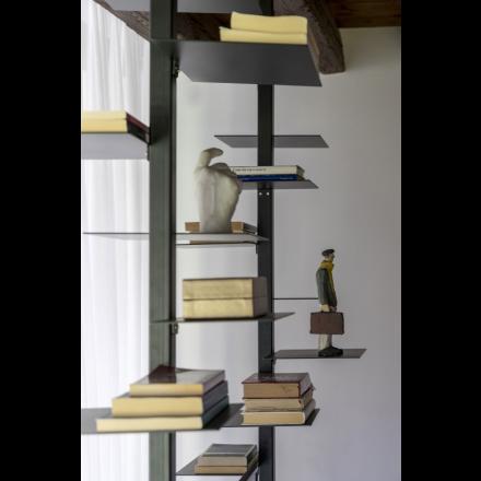 MOGG Adelaide metal - Vertical bookshelf in metal