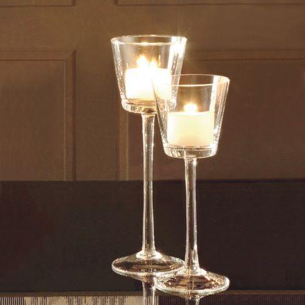 adriani e rossi candeliere da tavolo vetro soffiato design made in italy pisa