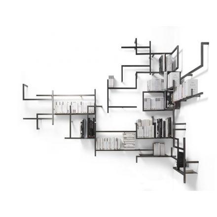 MOGG Antologia - Modular wall bookshelf