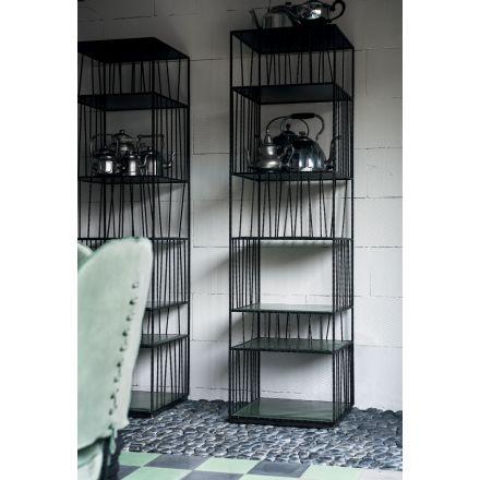 Borges Baxter libreria in ferro da parete - Luxury & Design