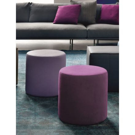"""Bontempi """"Badu"""" - Padded and upholstered pouf, available in different variants. - italian furnitures on line, modern furnitures on line, home decor, modern furniture shop, luxury home, interior design shop, worldwide shipping furniture, on line furniture"""