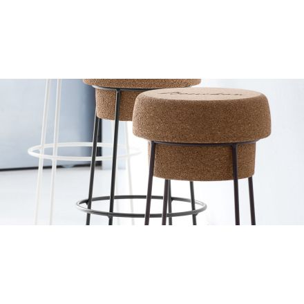 Domitalia Bouchon-SA - Stool with cork seat