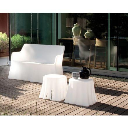 Domitalia Casper - Pouf o tavolino in polietilene