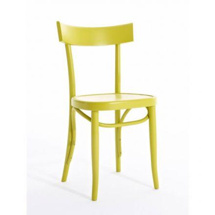 Brera Colico sedia da cucina in legno - Luxury & Design