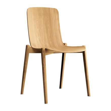 Dandy Colico sedia da cucina in legno - Luxury & Design