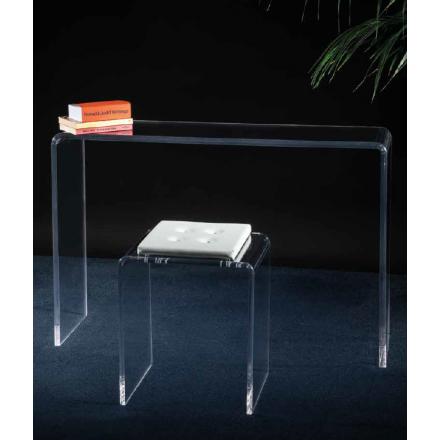 Vesta Design - Consolle simply in cristallo acrilico