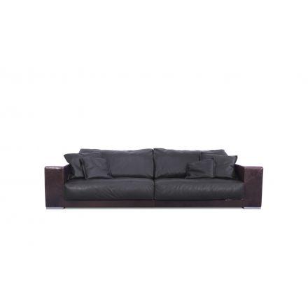 Budapest Baxter divano in pelle - Luxury & Design