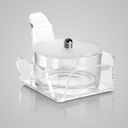 Vesta Home - Formaggera in cristallo acrilico LIKE WATER