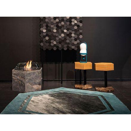 Biokamino Hexago - Free standing bio-fireplace