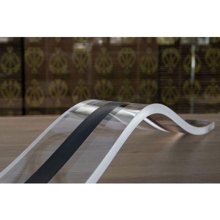 Vesta Design - Lampada da Tavolo hill in cristallo acrilico