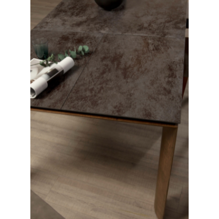 Tonin Casa Dada 8092 - Tavolo Allungabile con Piano in Ceramica