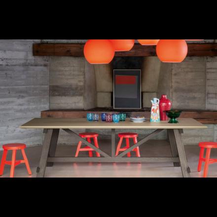 Devina Nais Arkitect - Tavolo con Piano in Legno