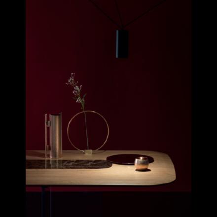 Devina Nais New York - Tavolo con Inserto Centrale in My Glass