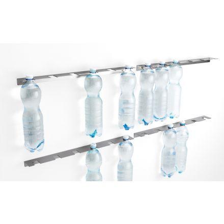 """Opinion Ciatti """"Inriga"""" - Supporto a parete in acciaio per bottiglie di plastica o vetro. - Made in Italy, design italiano, arredamento on line, home decor, arredamento moderno, arreda la tua casa, home design, accessori casa"""