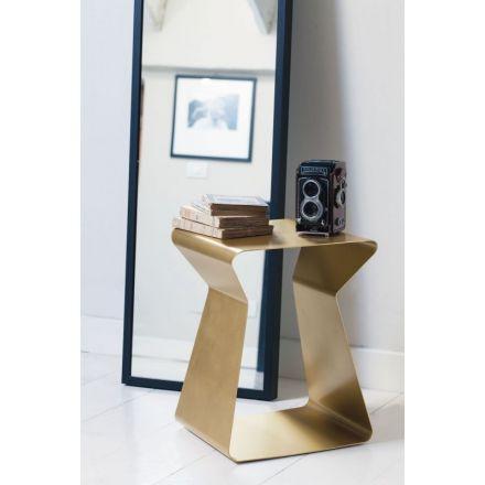 """Bontempi """"Kito 06.35"""" - Tavolino in acciaio lavorato. - Made in Italy, design italiano, arredamento on line, home decor, arredamento design, arredamento moderno, arreda la tua casa, home design, arredamento di lusso"""