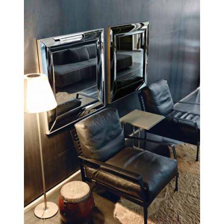 BMB Laux - Specchio da parete con cornice specchiata