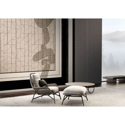 GLAMORA Light Frame - Art decò style wallpaper