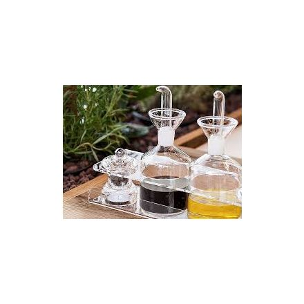 Vesta Home - Salt and Pepper in acrylic crystal LIKE WATER