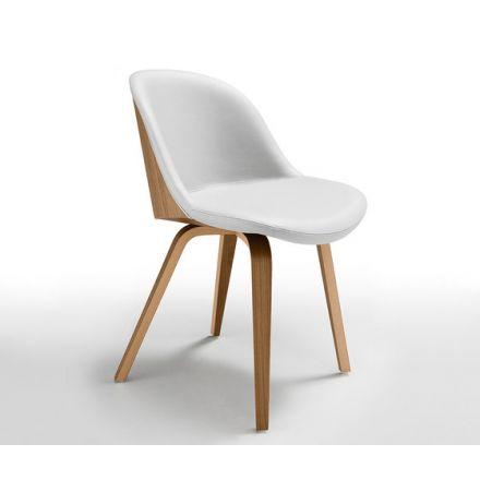 Danny S L Midj sedia da cucina in legno - Luxury & Design
