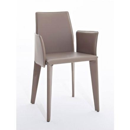 nss non solo salotti luxury karlotta karlotta p sedia acciaio design made in italy compra arredamento sedie cuoio non solo salotti luxury colico
