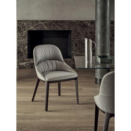 """Bontempi - Chair """"Queen 34.38"""" in wood"""