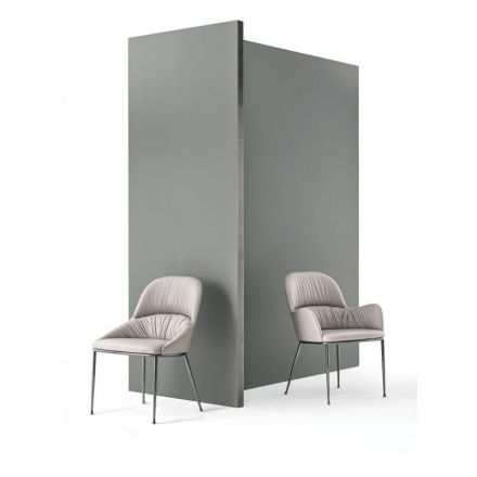 """Bontempi - Chair """"Queen 34.46"""" in steel"""