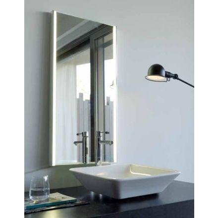 BMB Resort - Specchio da bagno con LED laterali