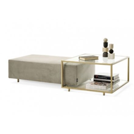 "MOGG - Coffee table / Pouf ""Zoom rectangular"""