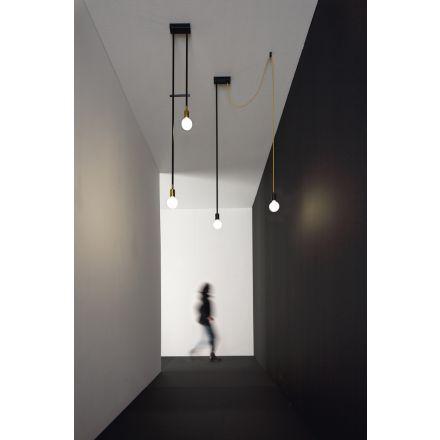 VESOI wall / ceiling luminaire  tiperdue 140/pl2 cavo dec.