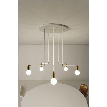 VESOI wall / ceiling luminaire  tipercinque 60/pl5 snodi