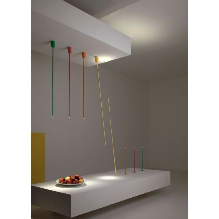 VESOI wall / ceiling and recessed luminaire tubetto 150/pl