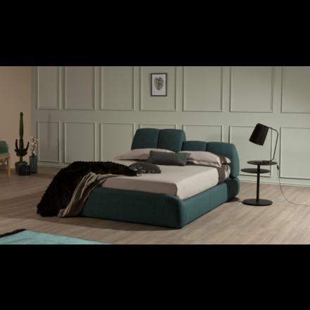 Tonin Casa Tuny - Double bed with linear headrest