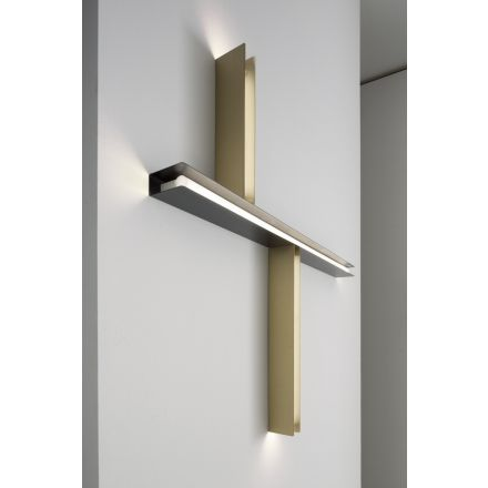 VESOI wall / ceiling luminaire U brass 55/sp