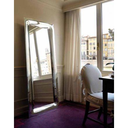 BMB Uma - Specchio da parete con cornice a specchio