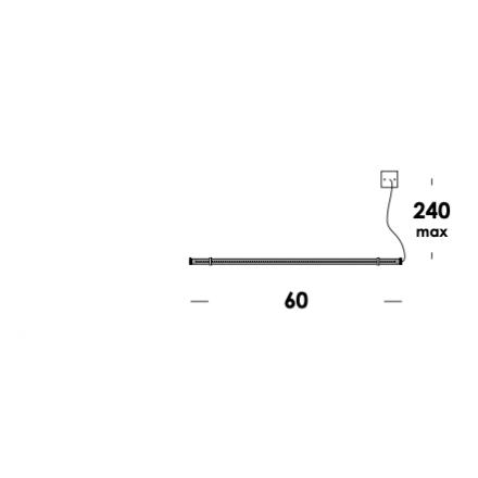 VESOI apparecchio a parete van abbe 60/ap