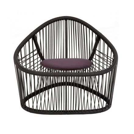 """Zanotta """"Club"""" 1009/102 - Armchair in painted steel, ideal for outdoor use. - Made in Italy furniture, online furniture, home decor, modern furniture shop,luxury home, decor your home, interior design shop, home shop on line"""