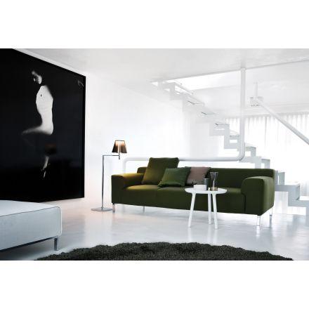 """Zanotta """"Loto""""  653 - Tavolino colore bianco opaco, adatto anche per esterni. - Made in Italy, design italiano, arredamento on line, home decor, arredamento design, arredamento moderno, arreda la tua casa, home design, arredamento di lusso"""
